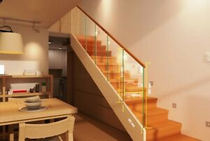 Nidda Toughened Glass Panel For Stair or Landing Staircase 8mm - Heavy Duty