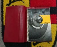 Original owners manual for Porsche 356B Dated1/63 Models. Inc red wallet .