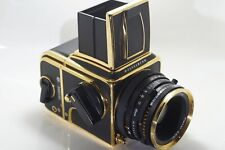 Hasselblad 500 C/M Exclusive Gold Edition Numbers 0758  Mint Conditions 500cm.