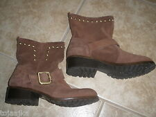 INC Henry ankle boots Suede sz 7 M new