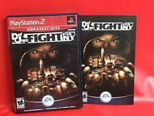 Def Jam: Fight for NY (PlayStation 2 PS2) CASE AND MANUAL ONLY - No Game Disc