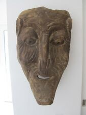 Mexican Folk Mask - Authentic Antique - Oaxaca - Hand Carved Wood - San Lucas