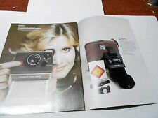 VINTAGE CATALOG #2329 - POLARIOD CAMERAS 1976