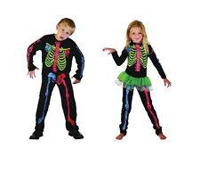 multicolore # squelette costume fille ou garçon semaine du Livre