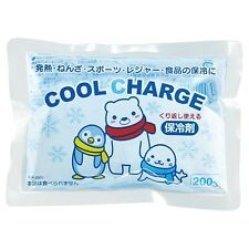 Kokubo Cool Charge 200g Pack Freezer Pack Food Cooler Travel To-Go Injury Sport