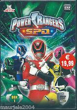 Power Rangers S.P.D. Box 01 (1985) Cofanetto 5 DVD NUOVO SIGILLATO 20 episodi