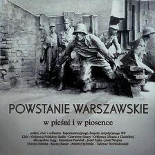 CD POWSTANIE WARSZAWSKIE  w pieśni i piosence / piosenki powstańcze