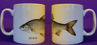 Roach coarse fishing angling mug personalised