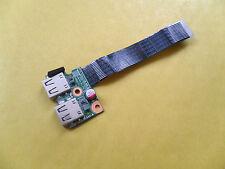 HP 650/HP 655/Compaq Presario CQ58 USB Board con cable