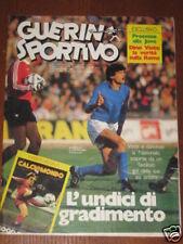 GUERIN SPORTIVO 1984/50 CALCIOMONDO BAYERN MONACO POSTER JUVENTUS PIETRO MENNEA