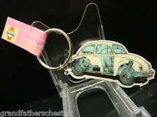 GENUINE HAYNES MANUAL CLASSIC CAR VW VOLKSWAGEN BEETLE KEY RING  STAINLESS STEEL