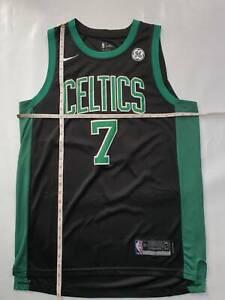 Boston Celtics Jalen Brown black jersey L NBA