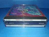 LOT OF 3 TAKE 6 CD'S - A383 - HE IS CHRISTMAS SO MUCH 2 SAY SELF TITLED