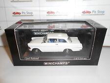 MIN430040200 by MINICHAMPS OPEL REKORD P2 WHITE 1960 1:43