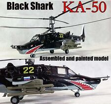 Russian Air Force kamov Ka-50 black shark attack helicopter No22 1/72 Easy model