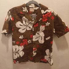 Party M Regular Size Hawaiian Vintage Casual Shirts for Men