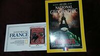 NATIONAL GEOGRAPHIC Magazine Back Issue July 1989 France- Bicentennial -NEW MAP