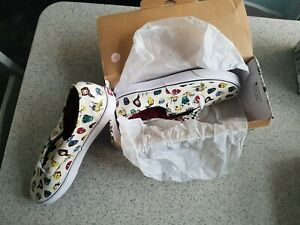 Vans X Marvel Authentic Shoes Trainers - BRAND NEW IN BOX - SIZE 11 UK