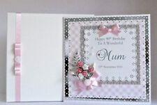 Birthday Card Wife/Girlfriend/Mum/Sister/Daughter/Friend Personalised Handmade
