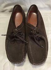 Clarks Originals Wallabee Shoes Mocha Brown Suede 78984 9M