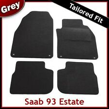 SAAB 9-3 93 Estate Facelift Mk2 2008-2012 Tailored Carpet Car Mats GREY