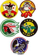 USAF 740th MISSILE SQUADRON FLIGHT PATCH SET