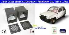 Casse per Panda kit supporto altoparlanti stereo autoradio fiat young porta box