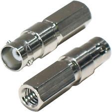 Cables y adaptadores de video coaxiales BNC hembra para TV y Home Audio