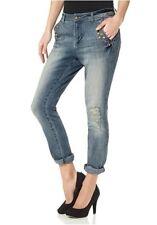 Trendy Cropped Boyfriend Jeans AJC Arizona GR. 40 Stretch 799494 Neu Top!