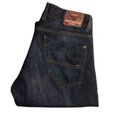 Mens TOMMY HILFIGER Rogar Jeans W32 L32 Blue Bootcut