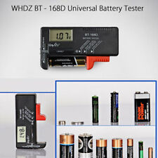 Digital LCD Battery Tester Volt Checker For 9V 1.5V AA AAA Cell BT-168D Easy #m
