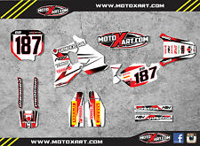 HONDA CR 80 1996 / 2002 Full  Custom Graphic  Kit -Storm Style - decals