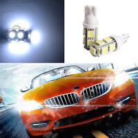 2pcs 194 168 W5W T10 9SMD-5050 LED White Light Car Tail Lamp Bulb Bright DC 12V