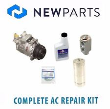 BMW E39 540i M5 Complete AC A/C Repair Kit with NEW Compressor & Clutch
