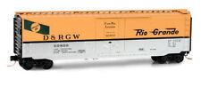 Micro Trains N: Denver & Rio Grande Western 50' Standard Box Car #60809