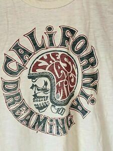 Johnson Motors Co California Dreaming The Last Mile Skull Helmet Size Small
