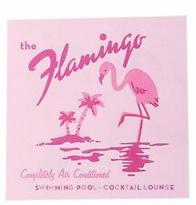 Party Partners 20 Count 3 Ply Cocktail Napinks Flamingo Hotel Happy Hour Pink