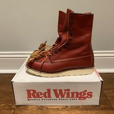 Red Wing 8877 Size 9.5D