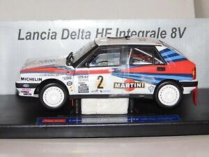 Lancia Delta Integrale 8V #2 MARLBORO RALLY ARGENTINA 1988 SUN STAR 3107 1:18