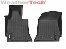 WeatherTech FloorLiner Mats for Chevrolet Corvette - 2014-2019 - 1st Row - Black