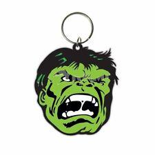 Hulk Face PVC flexible keyring    (py)
