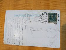 Paisley FL Doane Cancel 1908 Postcard Cover Rare & Unlisted - Only Known One
