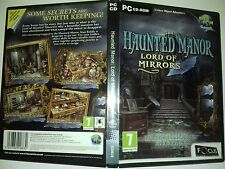 Haunted manor lord of mirrors hidden object, PC CD Rom 008-005