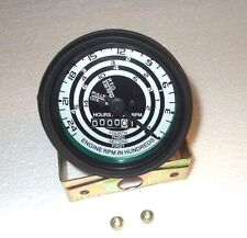Replacement Tachometer for Ford Black Bezel Fits 2N 8N 9N Tractors - A-8N17360A1