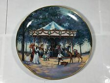 Franklin Mint Carousel Memories Collector Plate Sandi Lebron Exc Ltd Ed