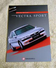 Vauxhall Vectra B Sport V6 Special edition brochure 1997 models