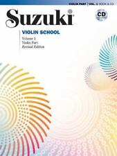 Suzuki Violin School, Vol 1: Violin Part, Book & CD