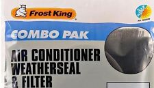 Frost King Combo Air Conditioner Weatherseal 1 1/4 x 42 / Filter 15 x 24 x 3/16