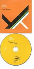 OMD ORCHESTRAL MANOEUVRES IN THE DARK HISTORY OF MODERN RARE FRENCH PROMO CD
