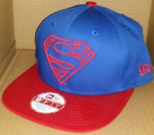 NWT NEW ERA SUPERMAN DC comics 9FIFTY SNAPBACK size adjustable cap hat